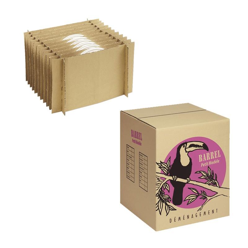 Carton d m nagement 24 assiettes - Ou trouver des carton de demenagement ...